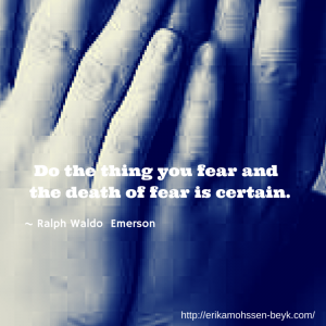 Fear - Schedule Your Fear