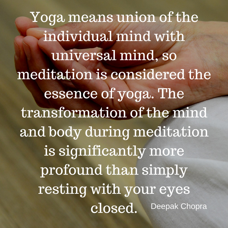 A View On Yoga And Meditation