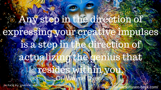 We Are Born With Inherent Potential A Creative Genius