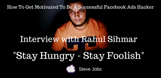 How To Get Motivated To Be A Successful Facebook Ads Hacker
