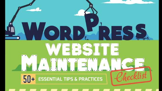 wordpress maintanance