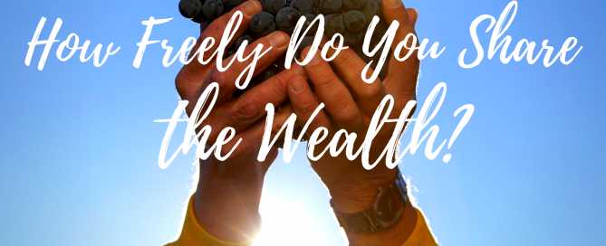 How Freely Do You Share the Wealth?