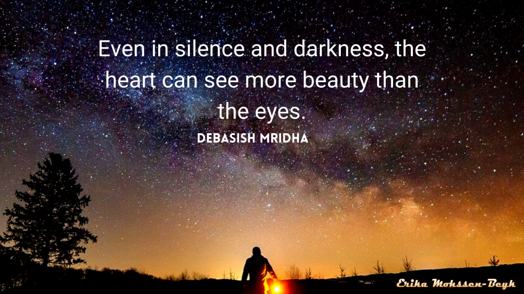 Have You Ever Thought of Darkness and Silence in this Way?