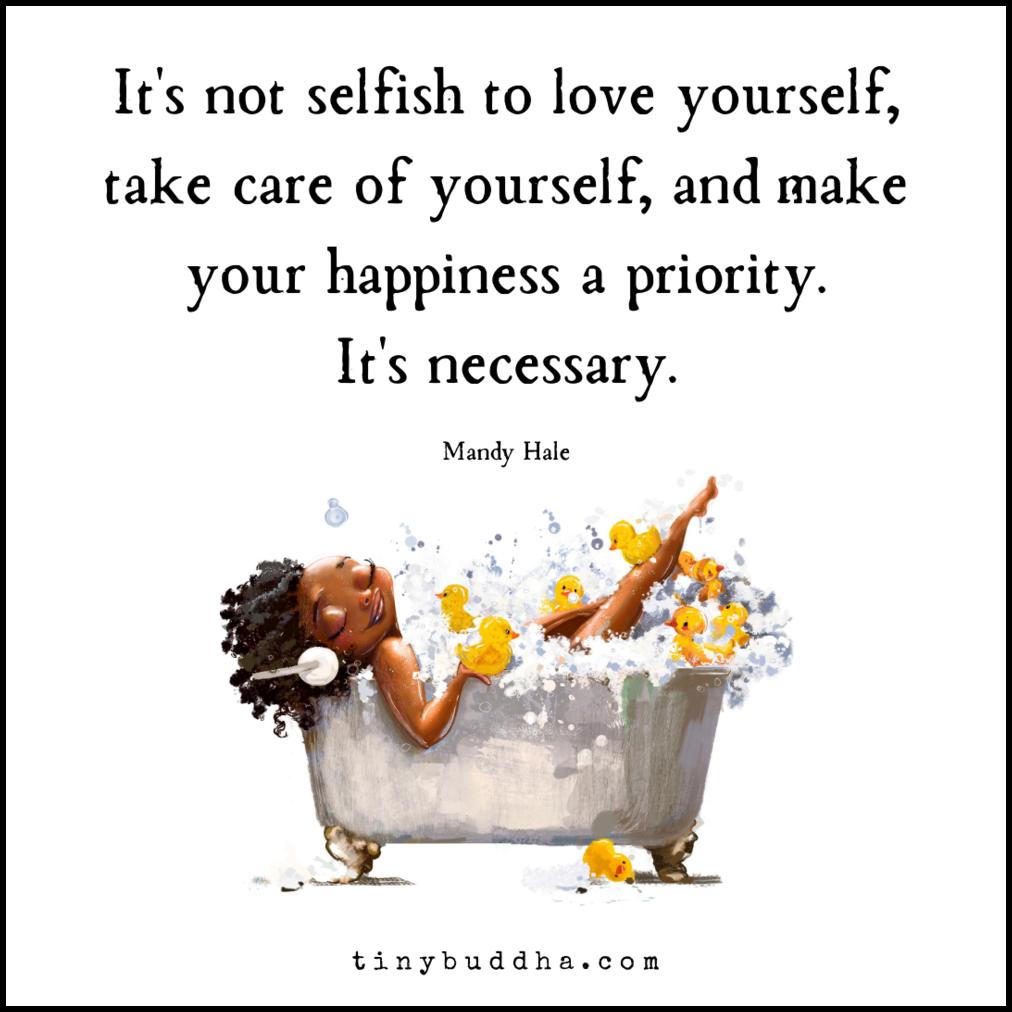 make self-acceptance and self-love a habit
