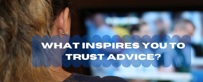 trust advice