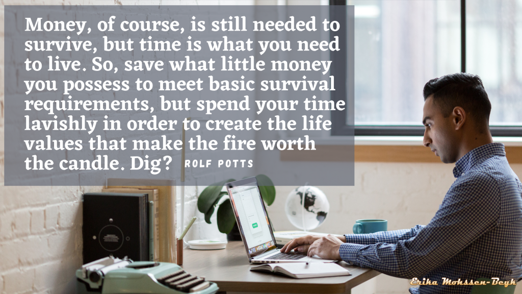 Do You Have a Deeper Fear of Losing Money or Time?
